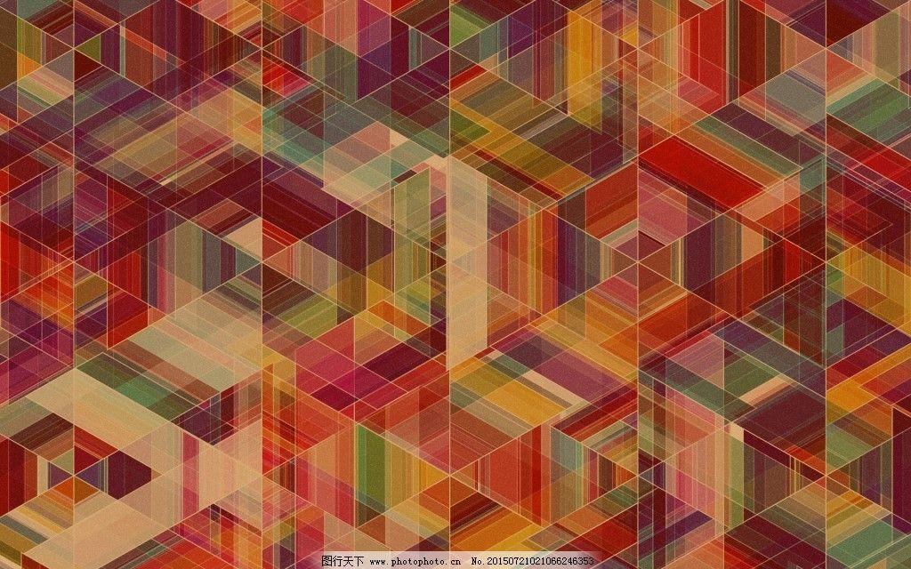 萌萌哒电脑桌面壁纸免费下载 底纹 多彩 桌面 几何壁纸 底纹 多彩