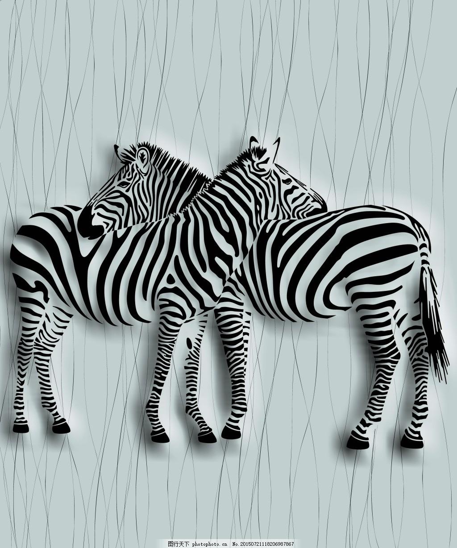 壁画背景墙墙纸 艺术简约欧式奢华 超强3d立体效果 源文件 tif 灰色