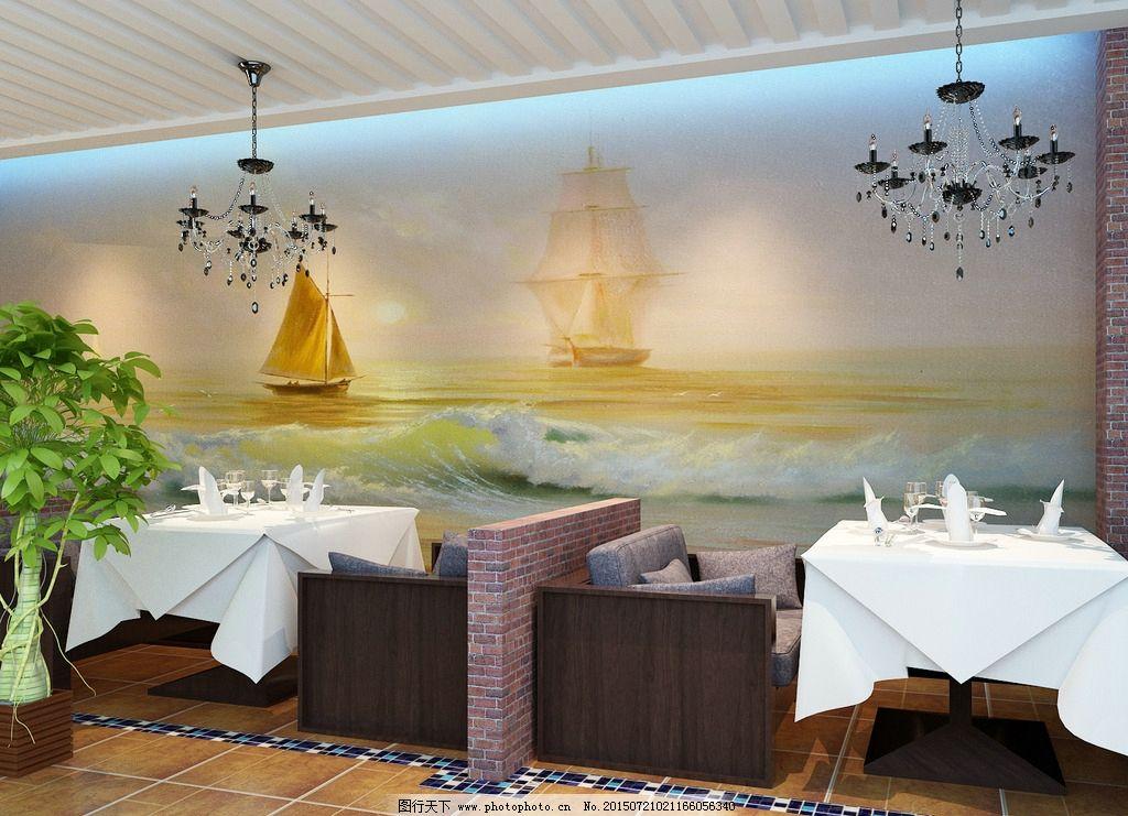 毕业设计 咖啡厅 西式 美式田园 西餐厅 设计 3d设计 3d作品 72dpi