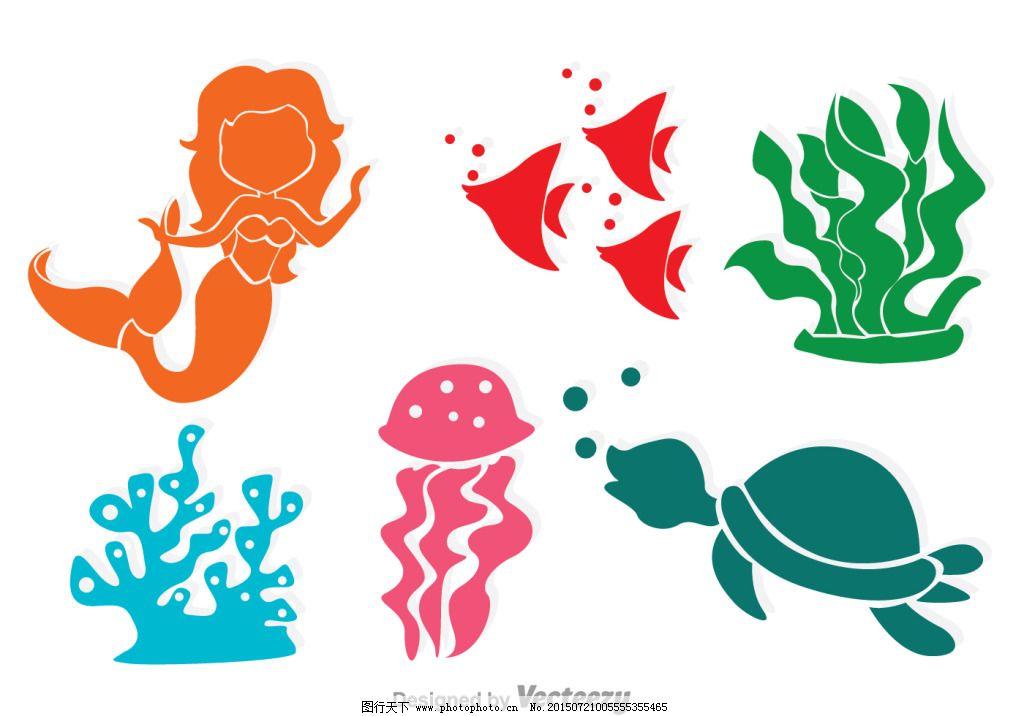 海生物设计图
