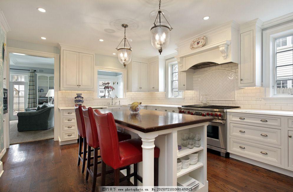 环境设计 家居设计 设计 室内摄影 现代厨房      厨具 冰箱 欧式厨房