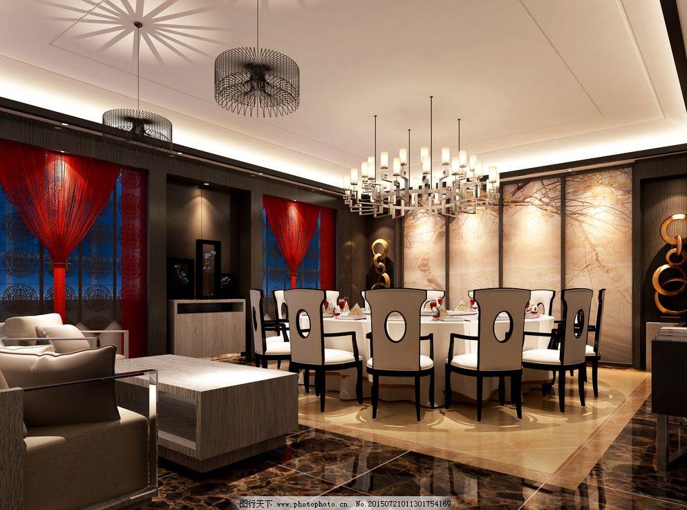 新中式客厅图片_jpg室内设计