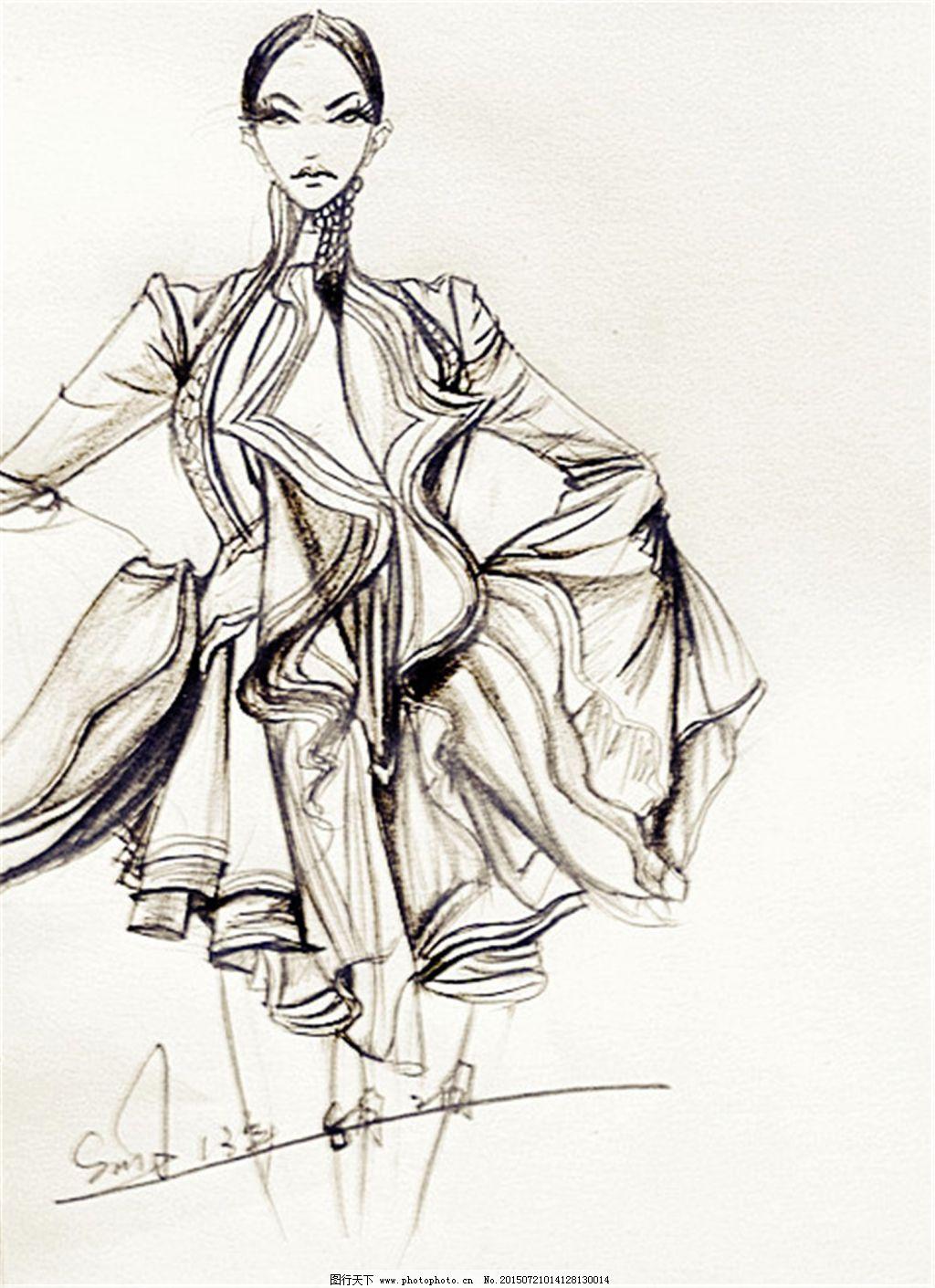 手绘服装设计一2