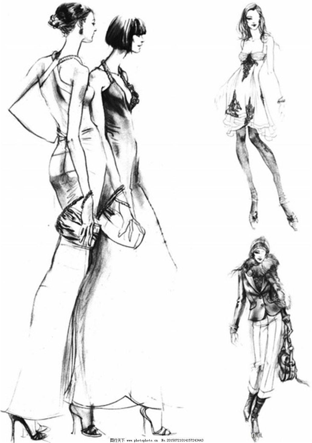 手绘服装设计一系列11