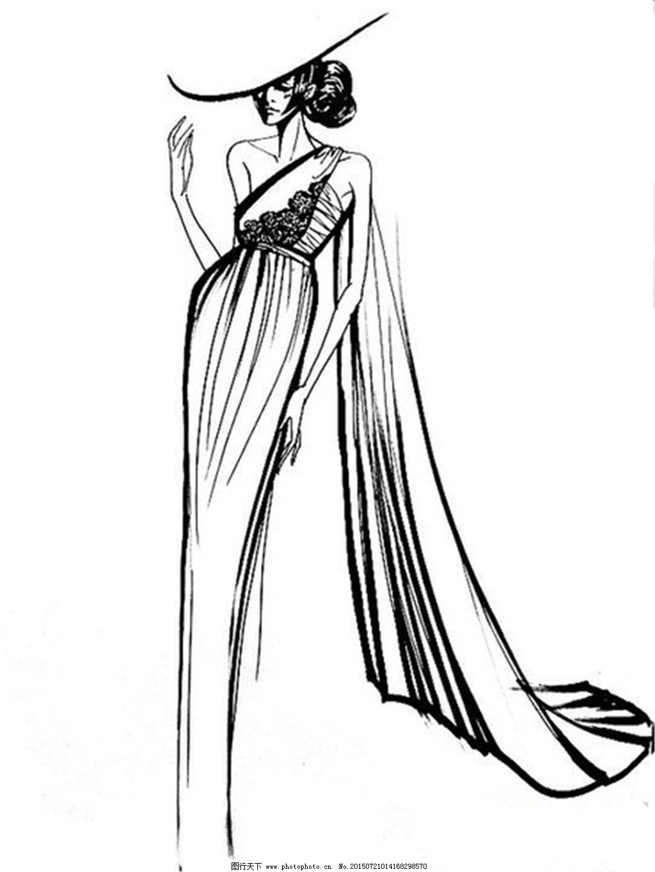 手绘服装设计一系列8