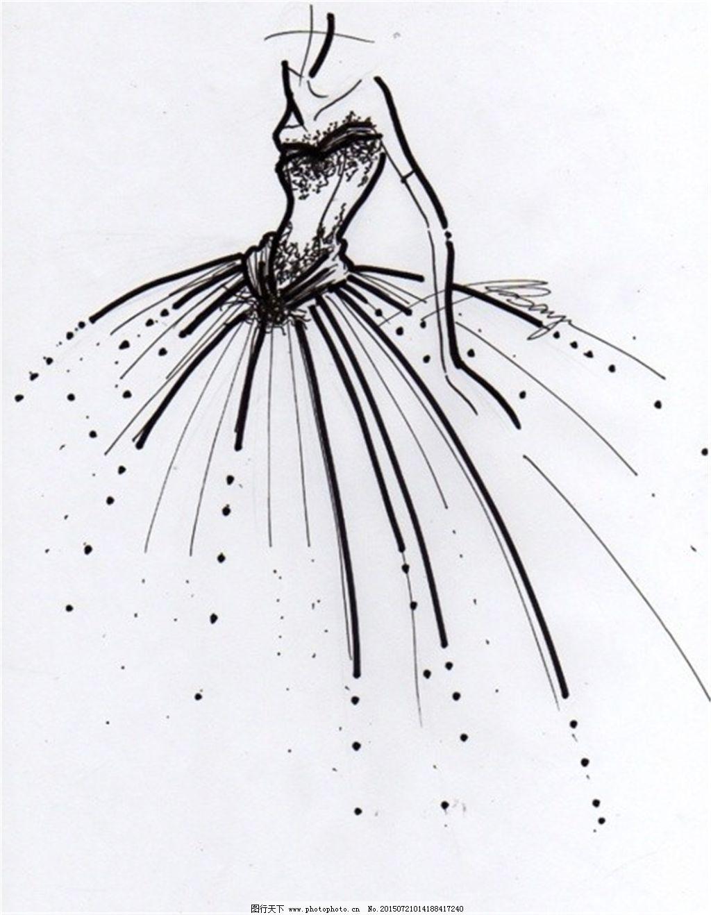 手绘服装设计6_手绘服装设计