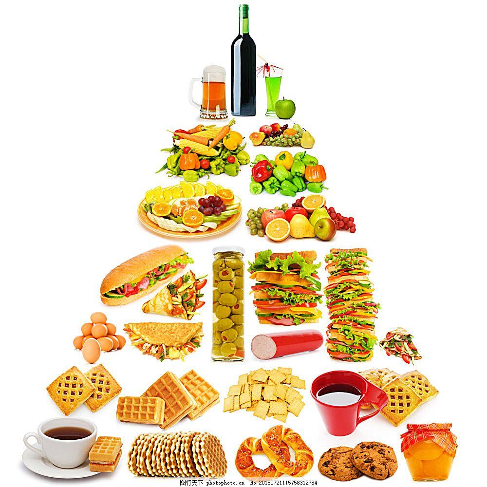 创意食物三角形