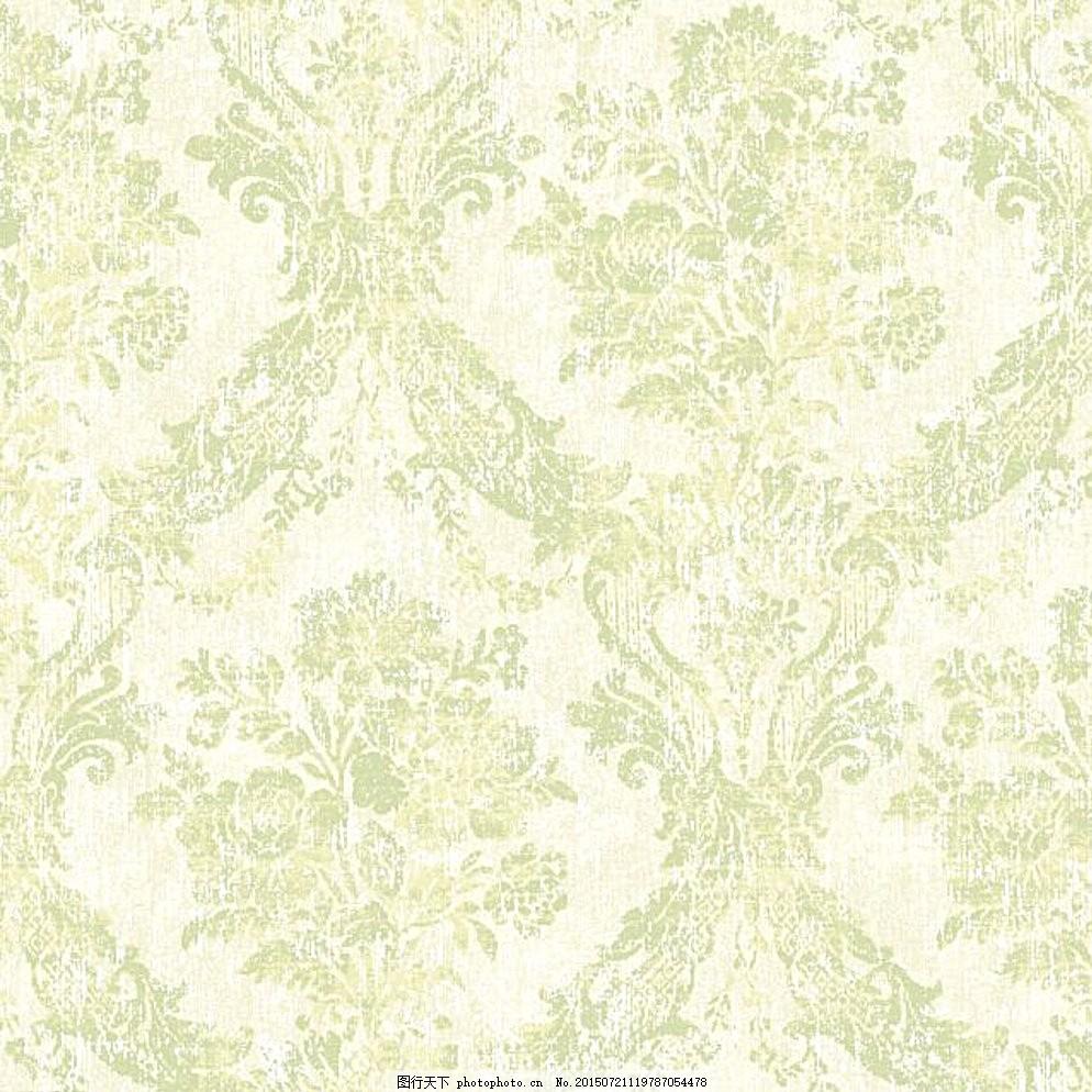 欧式团花 大马士革 墙纸 花型 欧式花型 文化艺术 其他 白色