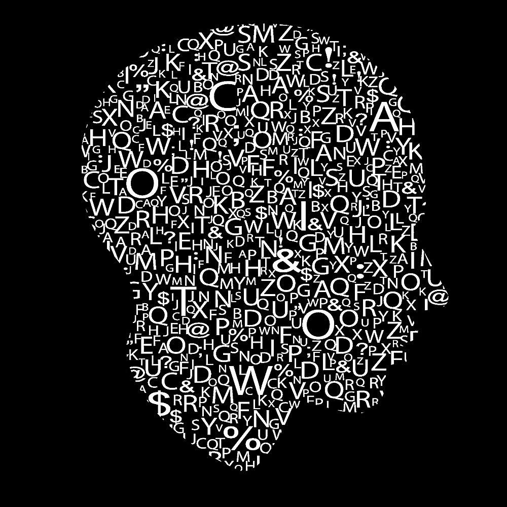 文字头像主题矢量 字体设计 抽象 图形 创意字体设计 艺术 设计素材图片