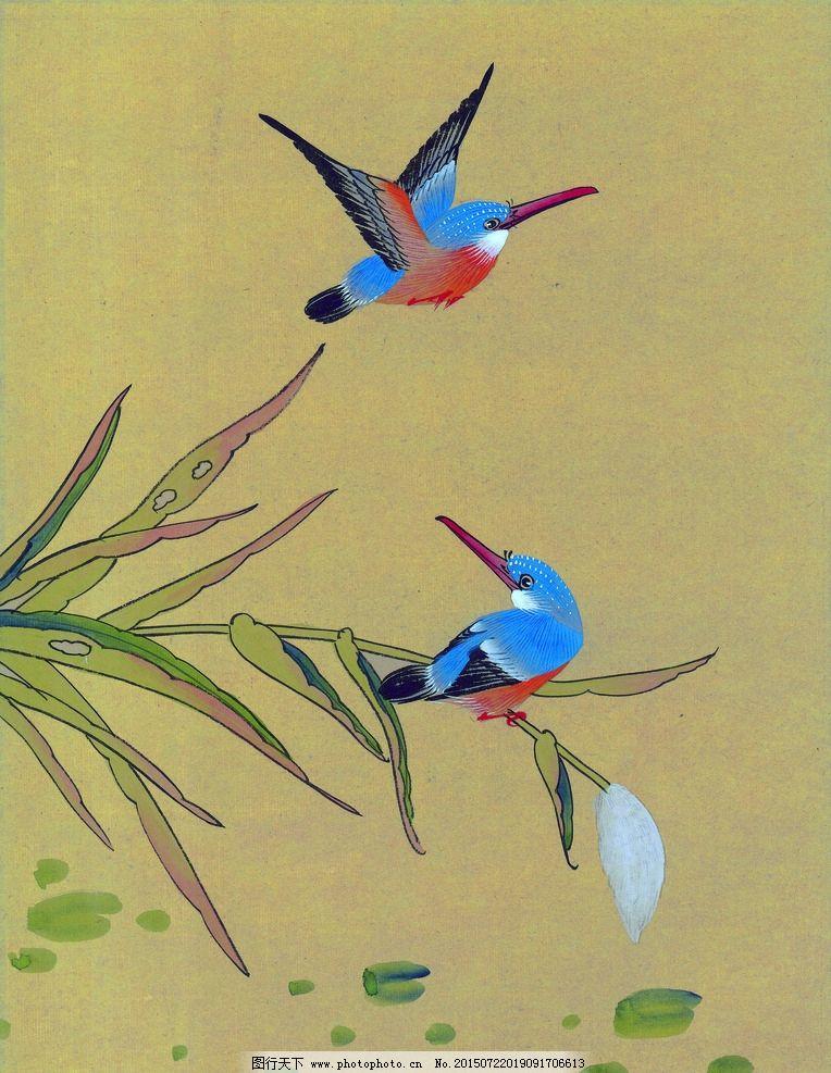 画画素描图片大全鸟