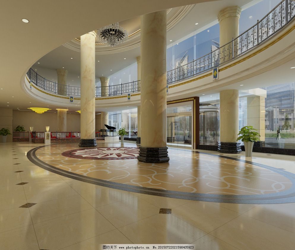 3d设计 72dpi jpg 酒店大堂 三星 设计 办公楼大厅 酒店大堂 挑空大堂
