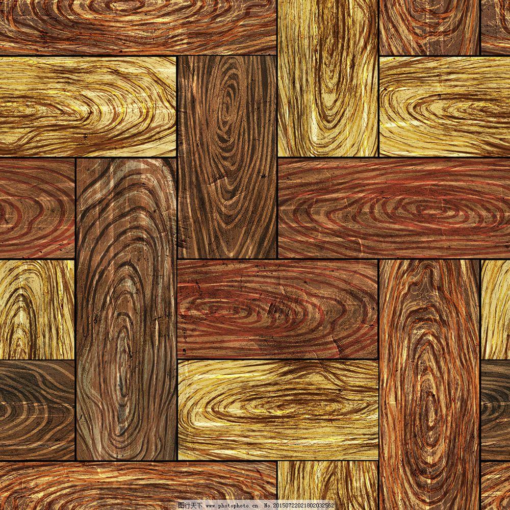 手绘高清木地板贴图素材