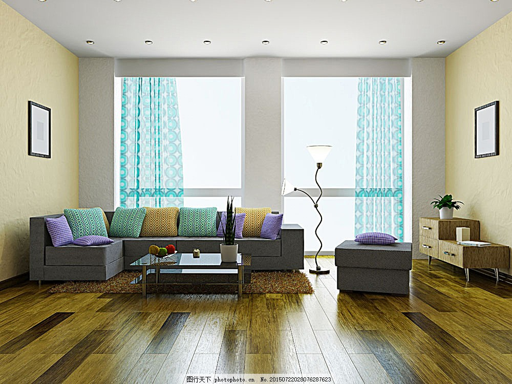 简约客厅设计 沙发 地板 房屋设计 装修设计 装潢 室内设计 环境家居