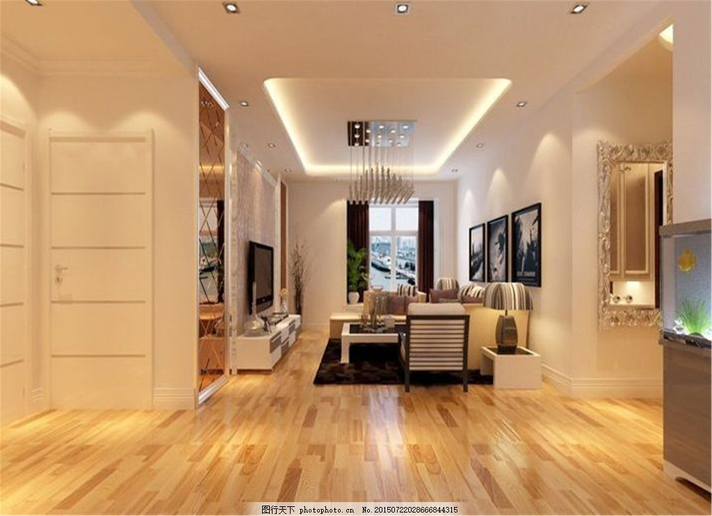 3d效果图设计 吊灯 沙发 室内设计 现代风格 现代客厅效果图