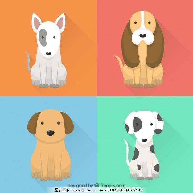 有趣的正弦波包 房子的设计 狗 动物 平 可爱 宠物 平面设计 有趣 包
