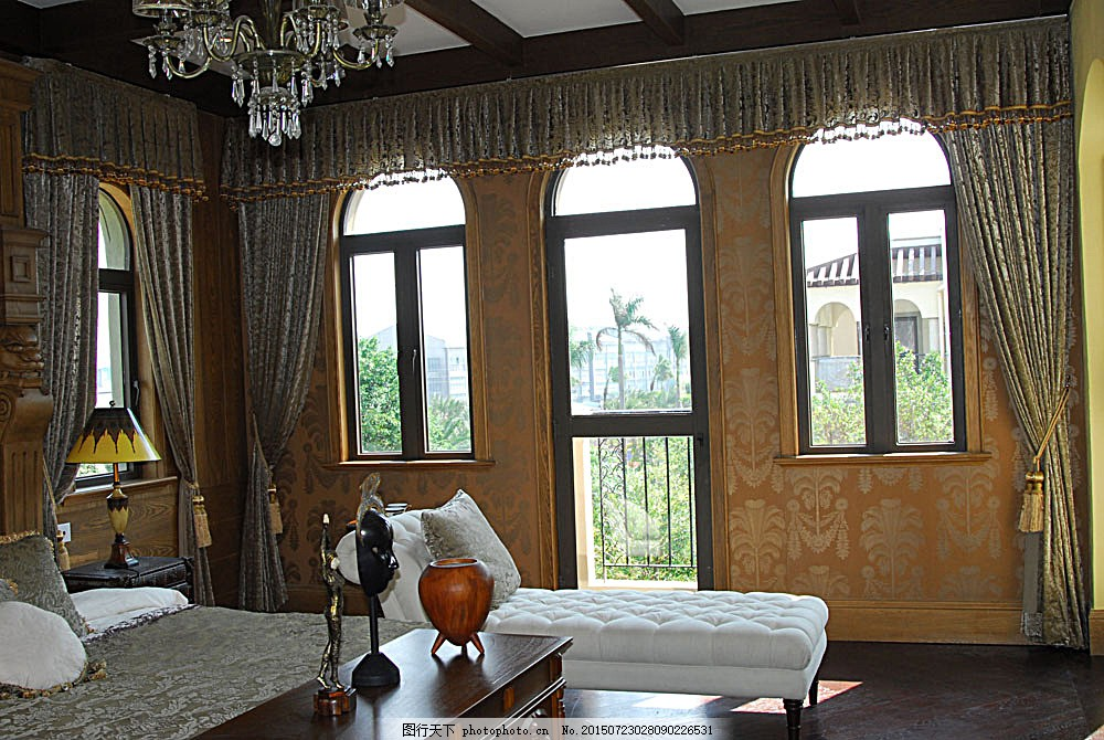 欧式装潢设计图 室内设计 室内装饰效果图 室内装潢 时尚家居 室内