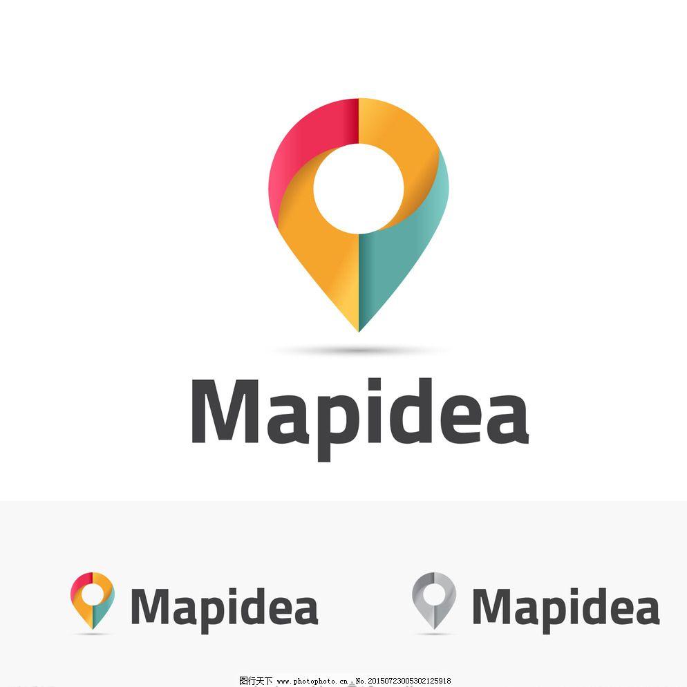 企业logo设计图片免费下载 eps logo logo设计 广告设计 红色 黄色