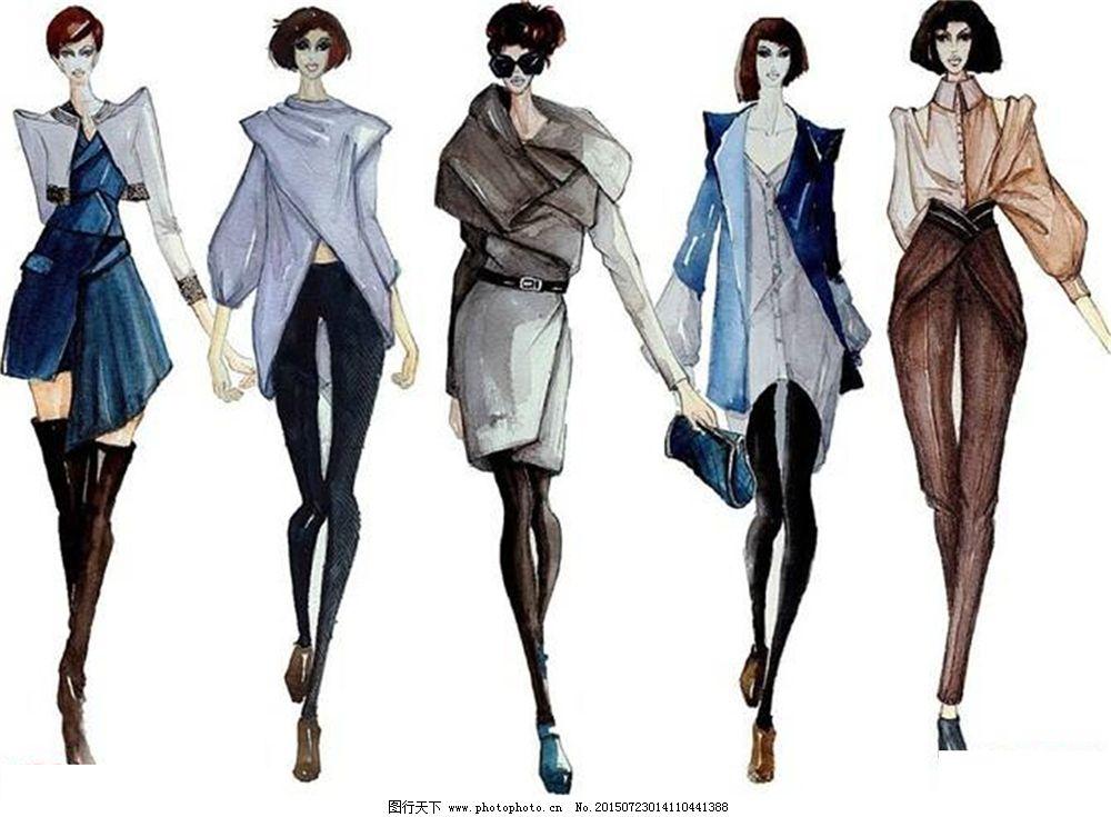 手绘服装设计v_手绘服装设计