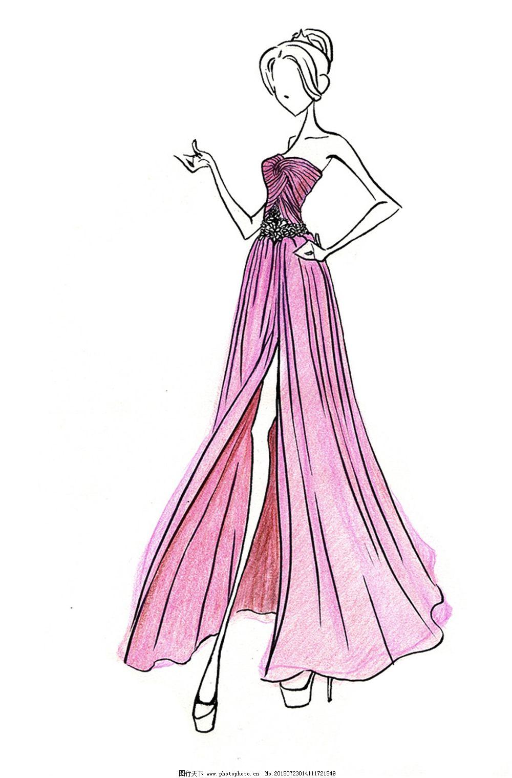 手绘服装v_手绘服装设计