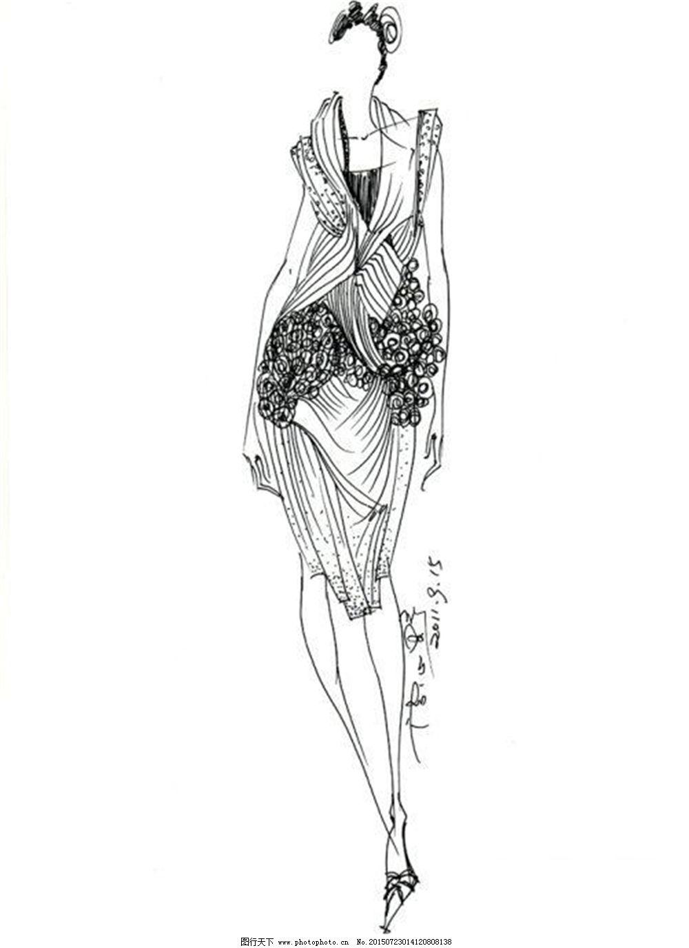 手绘服装设计vb_手绘服装设计