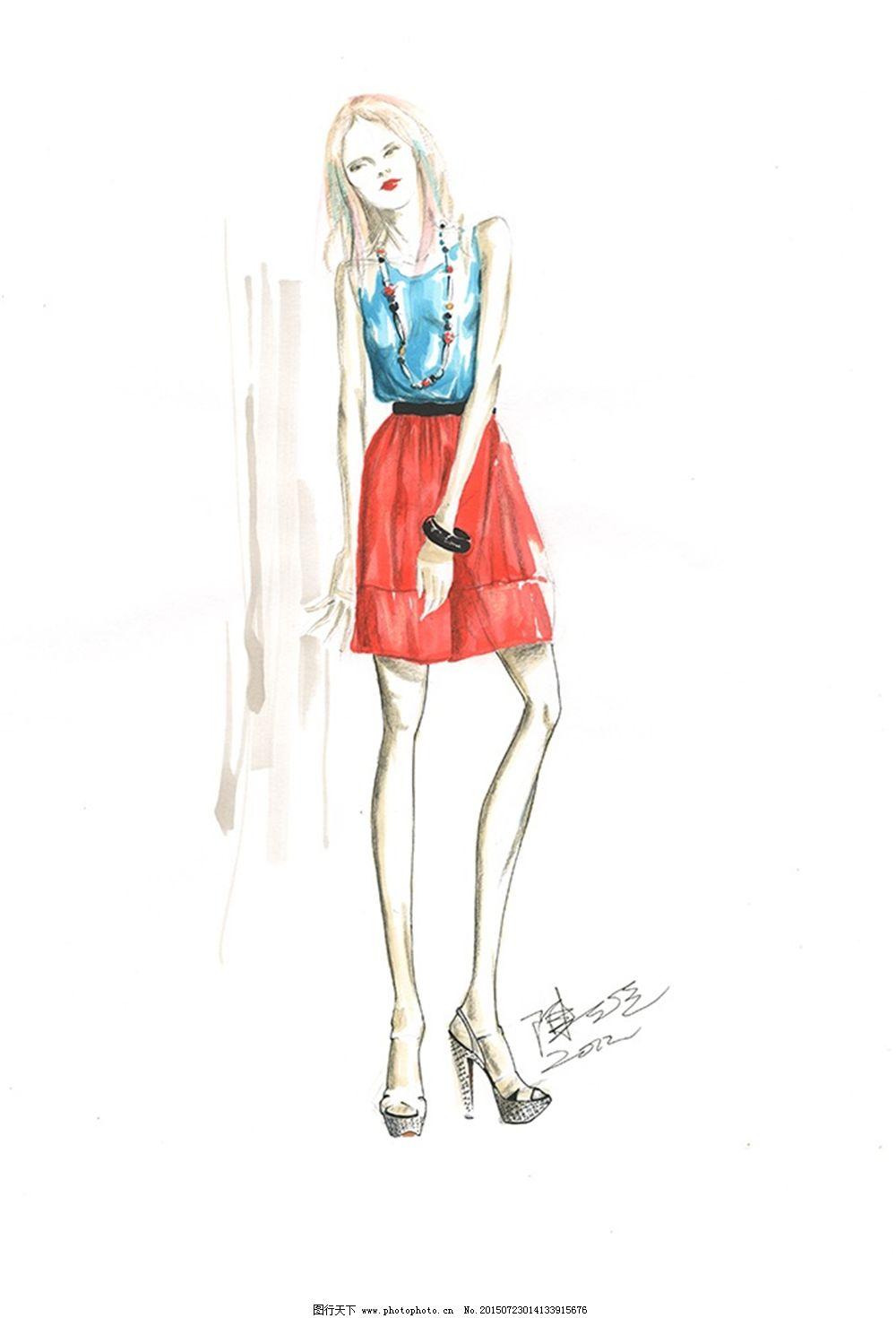 设计图库 服装设计 手绘服装设计    上传: 2015-7-23 大小: 705.