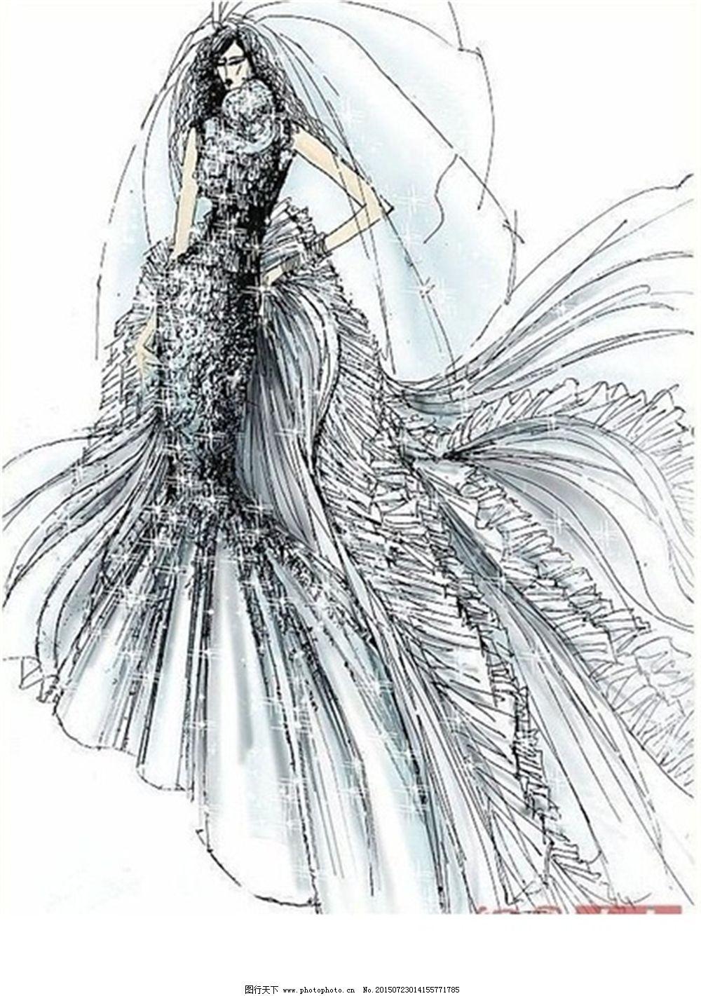 设计图库 服装设计 手绘服装设计    上传: 2015-7-23 大小: 2.