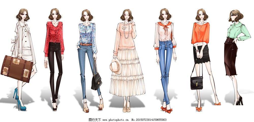 手绘服装设计免费下载v