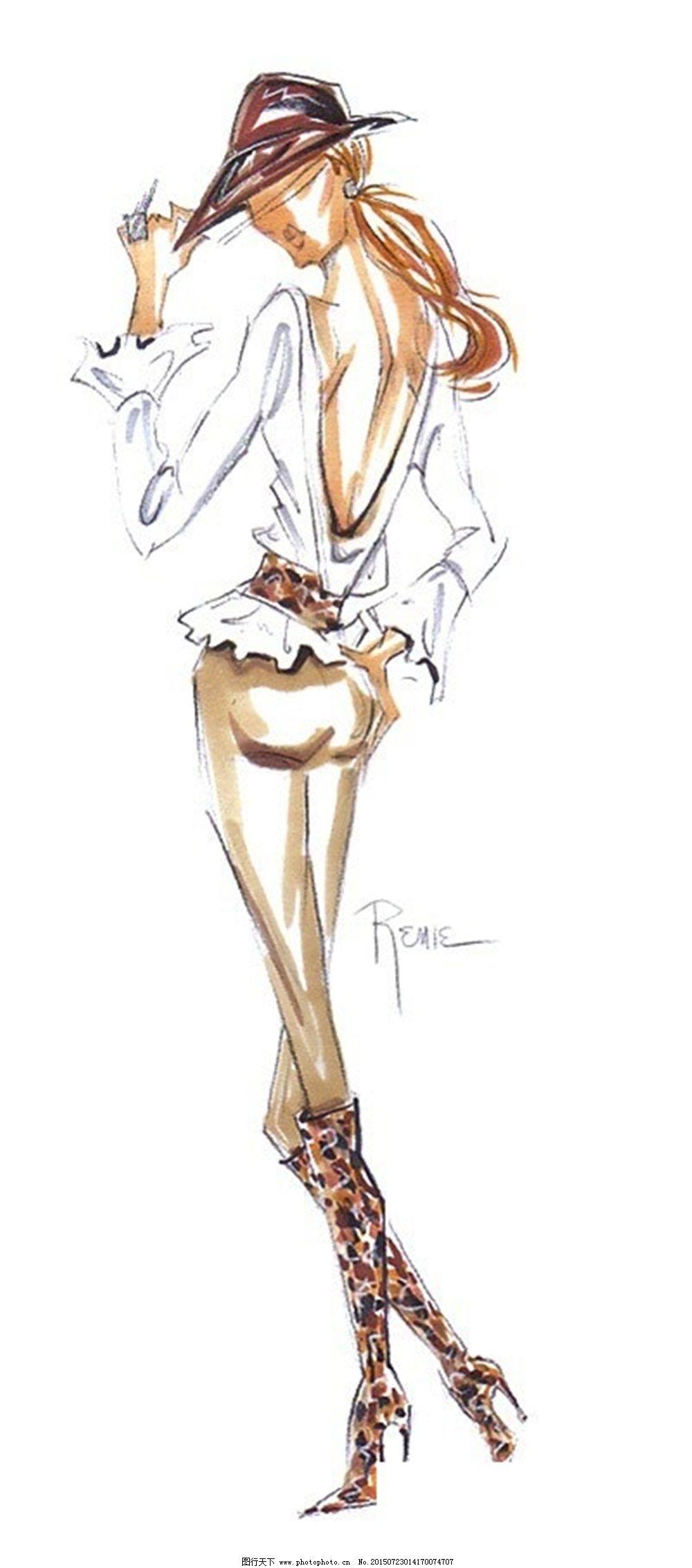 设计图库 服装设计 手绘服装设计    上传: 2015-7-23 大小: 1.