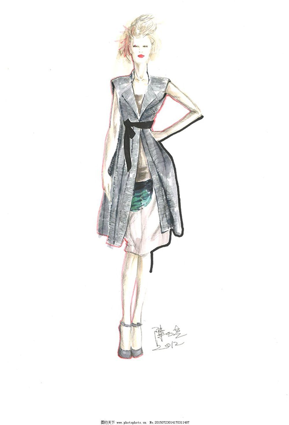 设计图库 服装设计 手绘服装设计    上传: 2015-7-23 大小: 635.