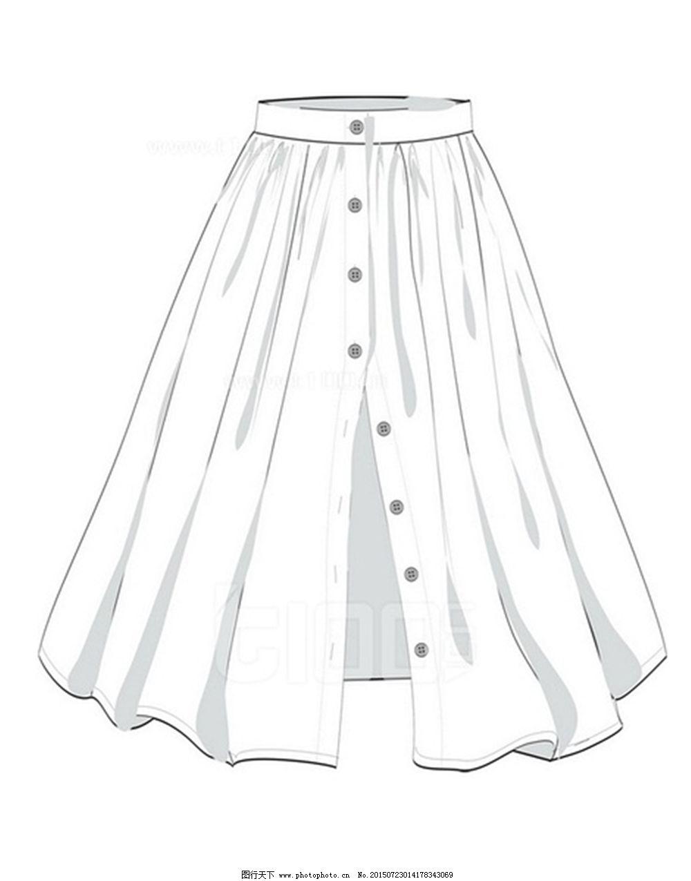 手绘服装设计图短裙_手绘服装设计图短裙分享展示