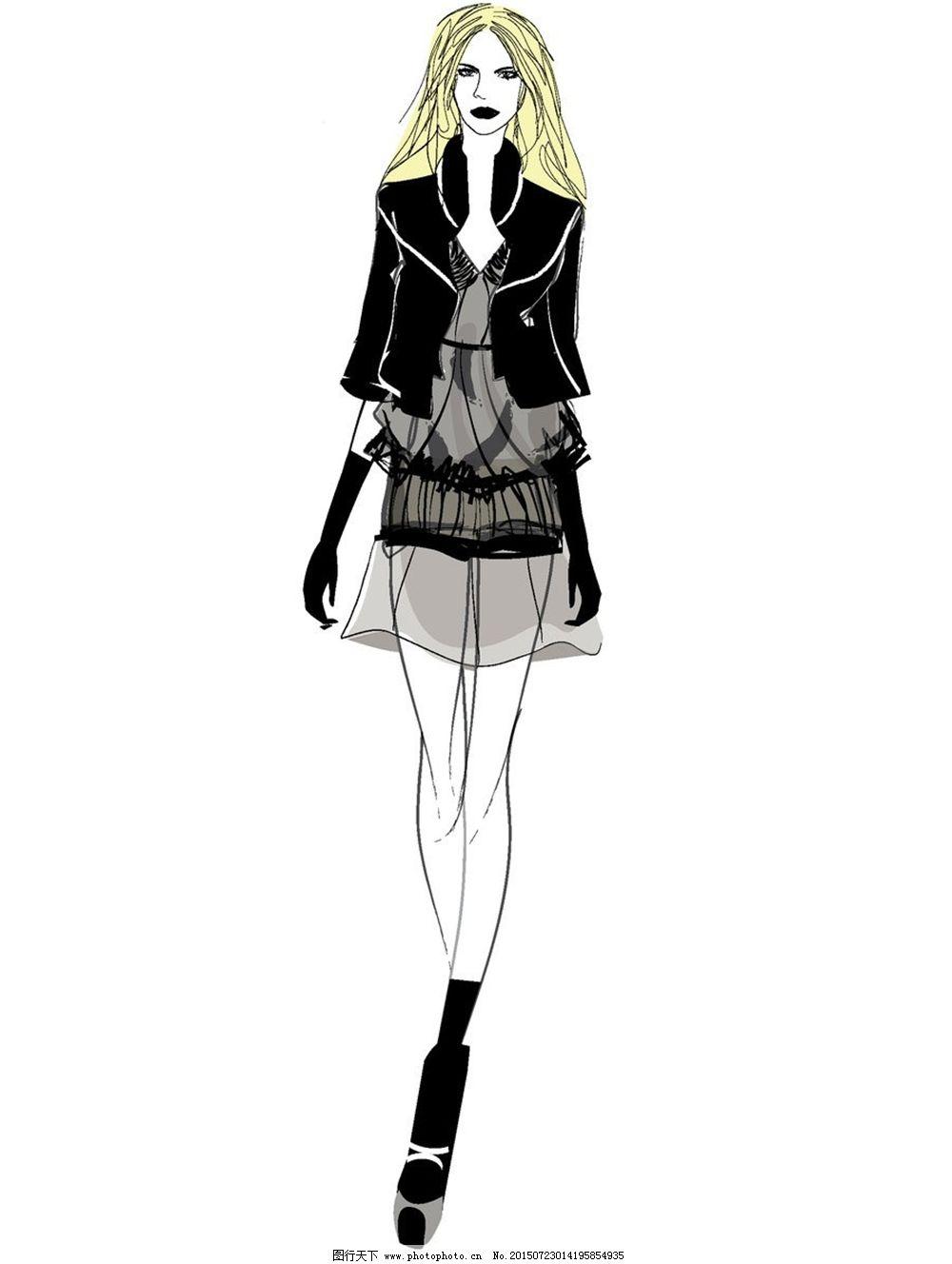 服装�:-+yl>[�~K�>K�_手绘服装设计v