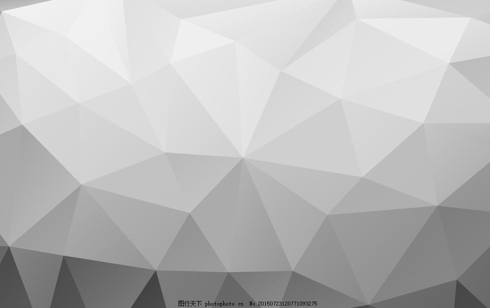 抽象的三角形背景图片
