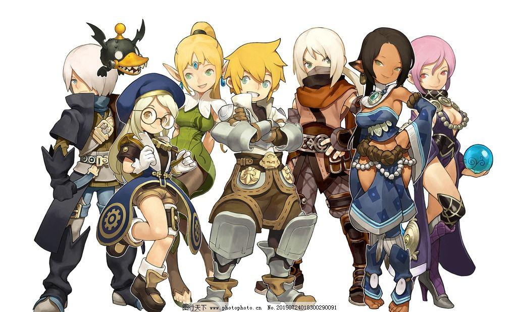龙之谷 游戏 角色设定 人设 人物设定 设计 动漫动画 动漫人物 300dpi