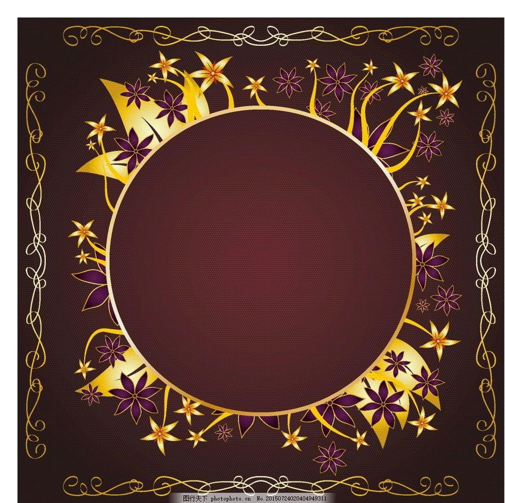 圆框 模版 古典 欧美 欧式 古风 时尚 欧式古典 圆形 婚纱 背景 相框