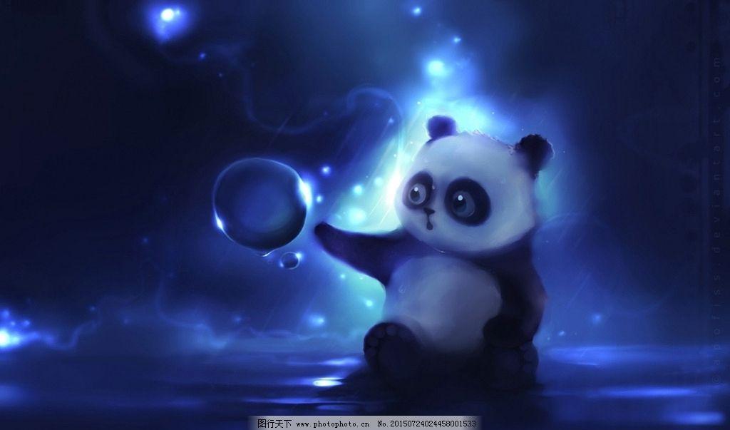 熊猫主题桌面下载