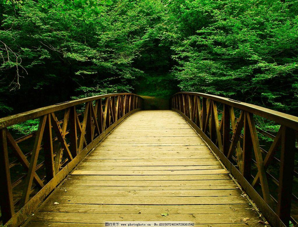 手工小制作木桥