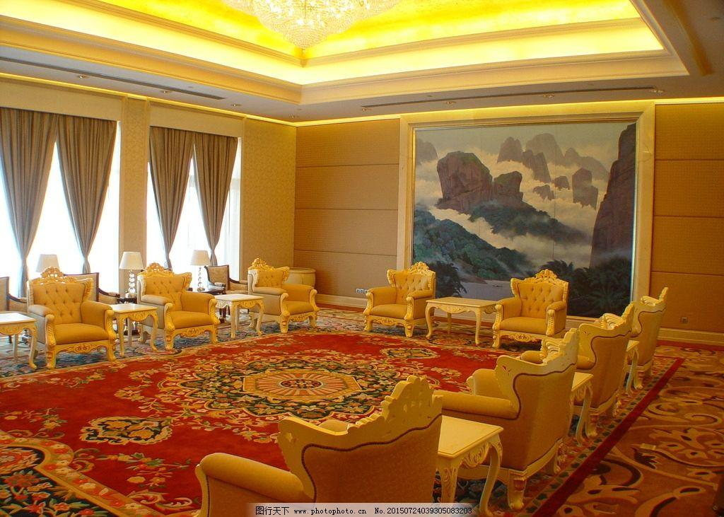 海悦山庄 酒店 会议厅 欧式 金碧辉煌 奢华高档 摄影 建筑园林