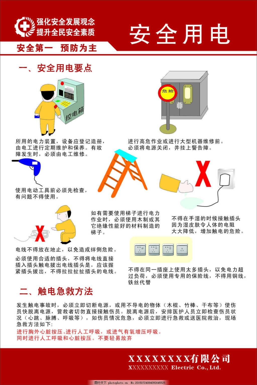 安全用电漫画宣传展板