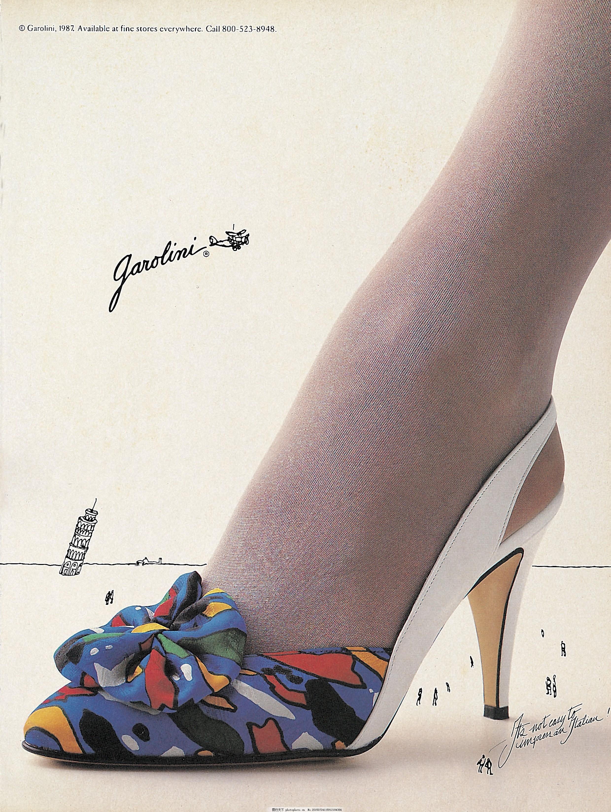 0005_高跟鞋 广告 平面,设计素材 箱包鞋类 平面创意图片