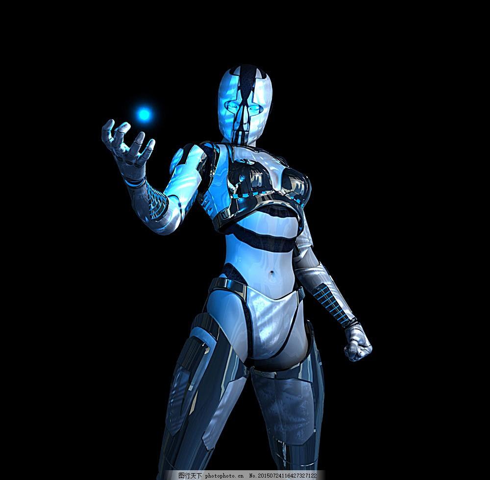 电影女机器人