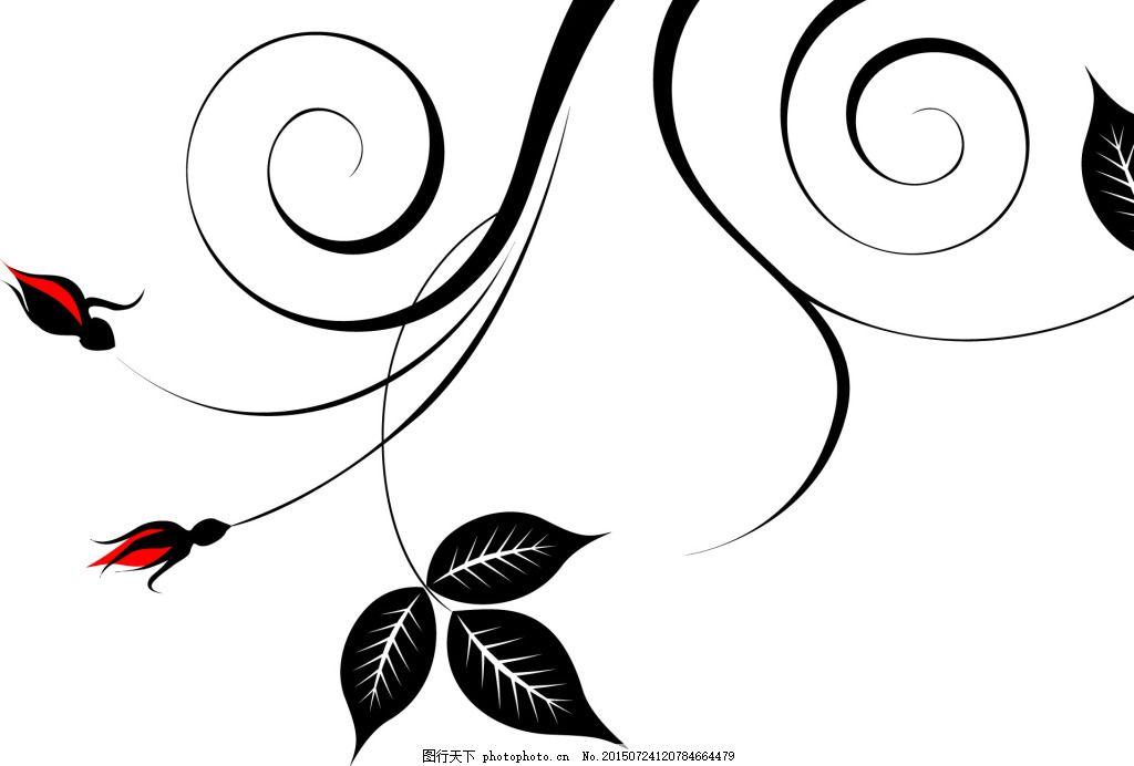 花纹 简单 大方 花纹式样 白色图片