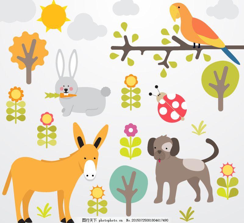 森林里动物