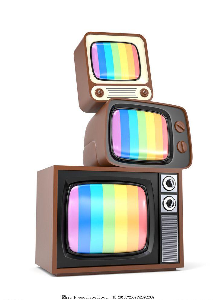 老式电视机图片