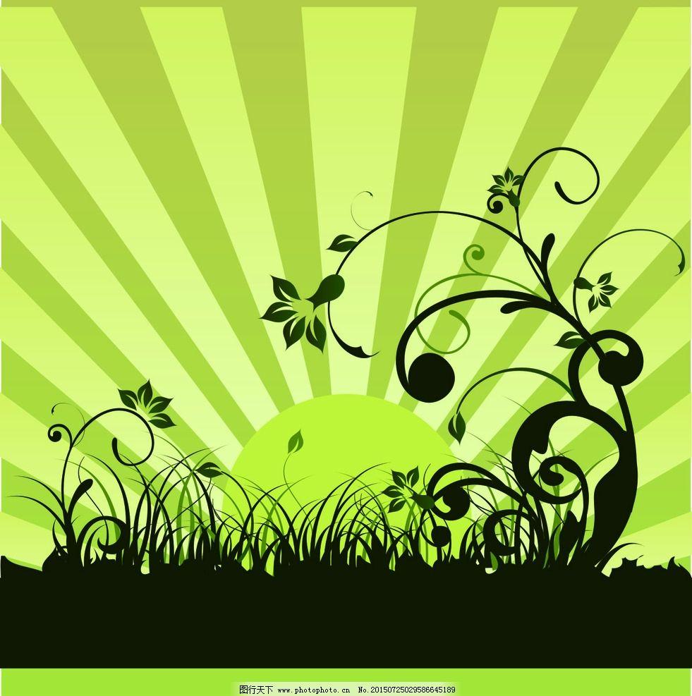 蝴蝶 花边 花纹 黄色 蓝色 绿色 矢量素材 欧式花纹 设计 广告设计