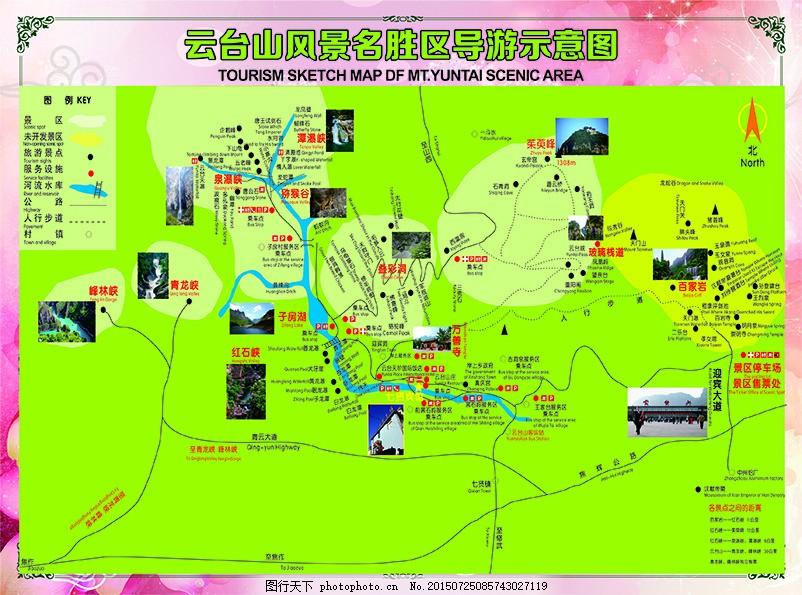 云台山导游图