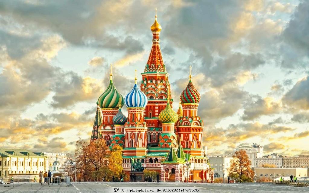 童话梦幻彩色城堡大图