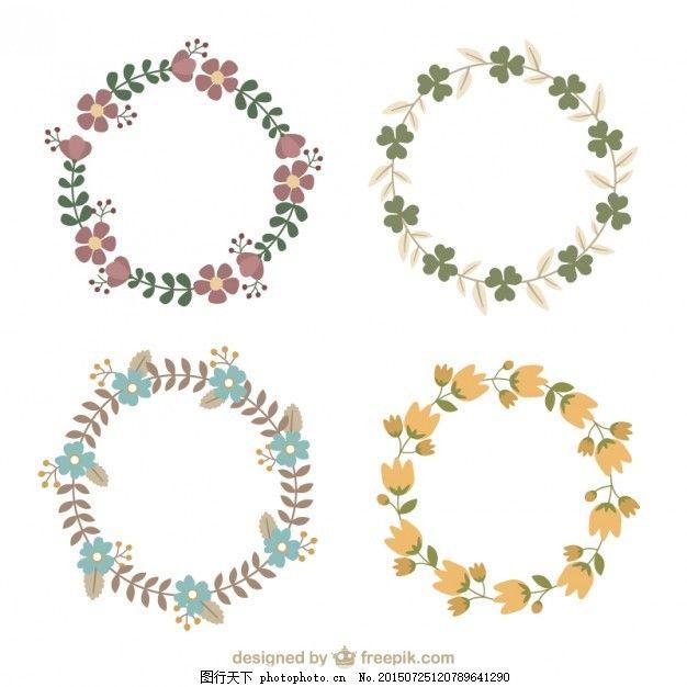 手绘花圈类型