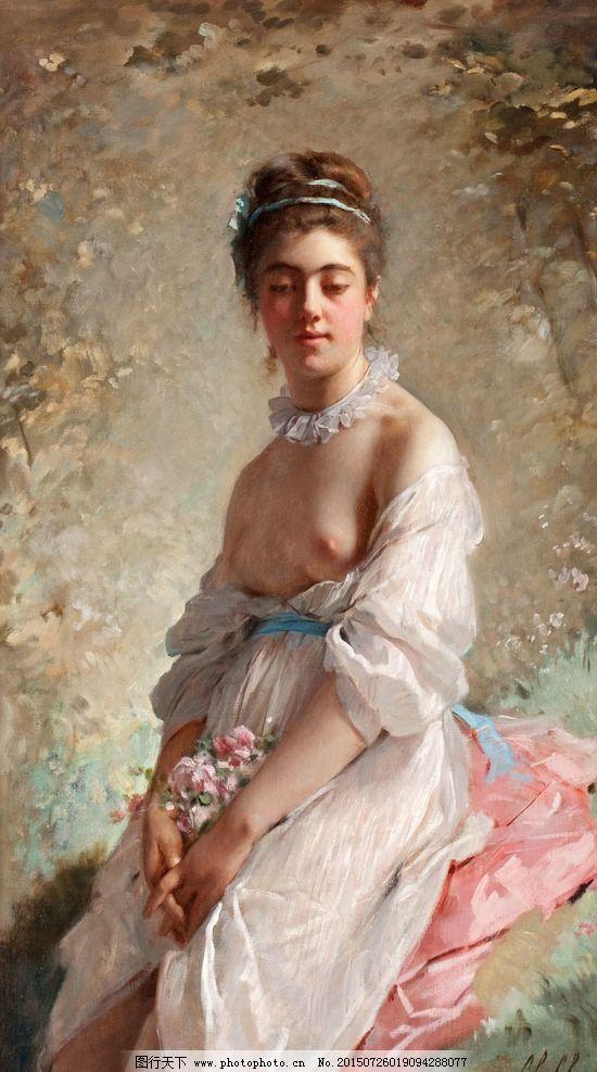 装饰画 无框画 欧式油画 唯美 油画艺术 古典油画 写实油画 绘画 艺术