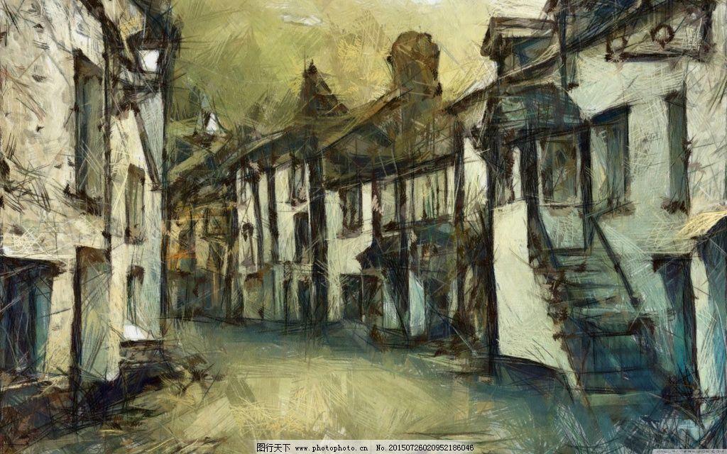 古城楼壁纸图片
