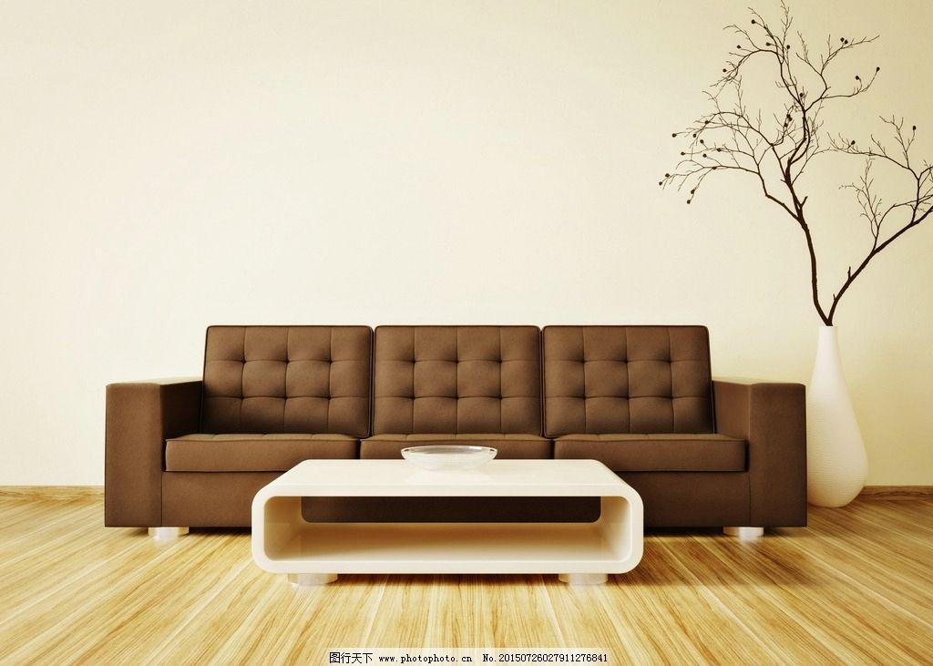 欧式现代风格客厅木地板